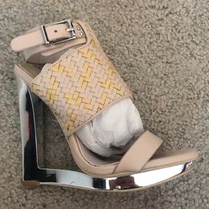 Sexy Nude sandals from BCBG size 6